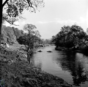 Canoeing, River Wharfe, Grass Woods